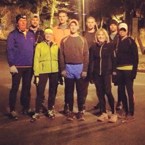 trail group run