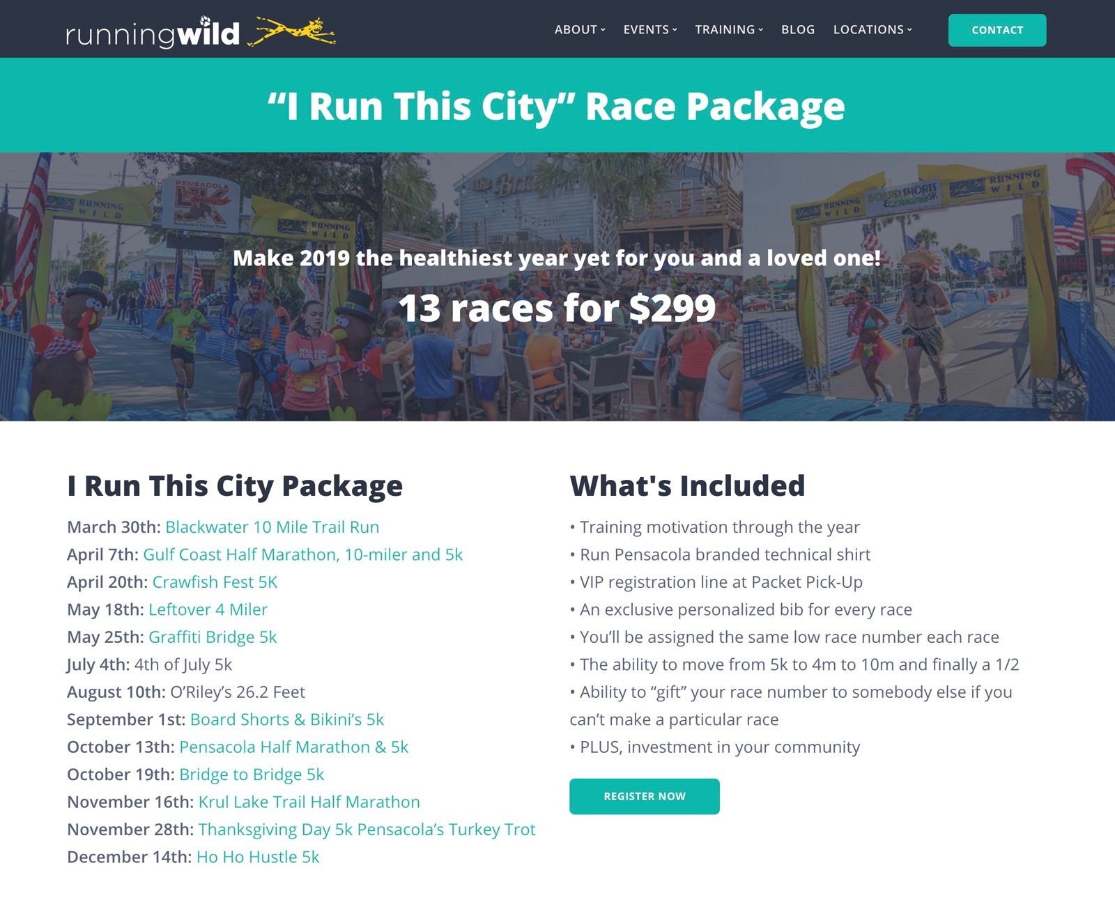 """64fdc404c """"I Run This City"""" Race Package 